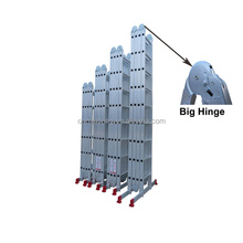 Aluminium Multipurpose Ladder with Big Hinge 4*6 4*7 steps