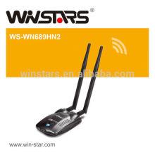 Adaptateur wifi haute puissance sans fil USB 2.0 300Mbps, adaptateur sans fil haute puissance de 300Mbps