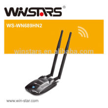 high power usb2.0 wifi adapter.300Mbps Wireless network adapter,Support 2.4GHz WLAN networks