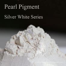 Industrie Perlglanzpigment Silber Weiß Serie Perlenpulver