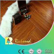 12.3mm Embossed Hickory Waxed Edged Lamiante Flooring