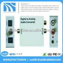 Преобразователь цифро-аналогового аудиодекодера