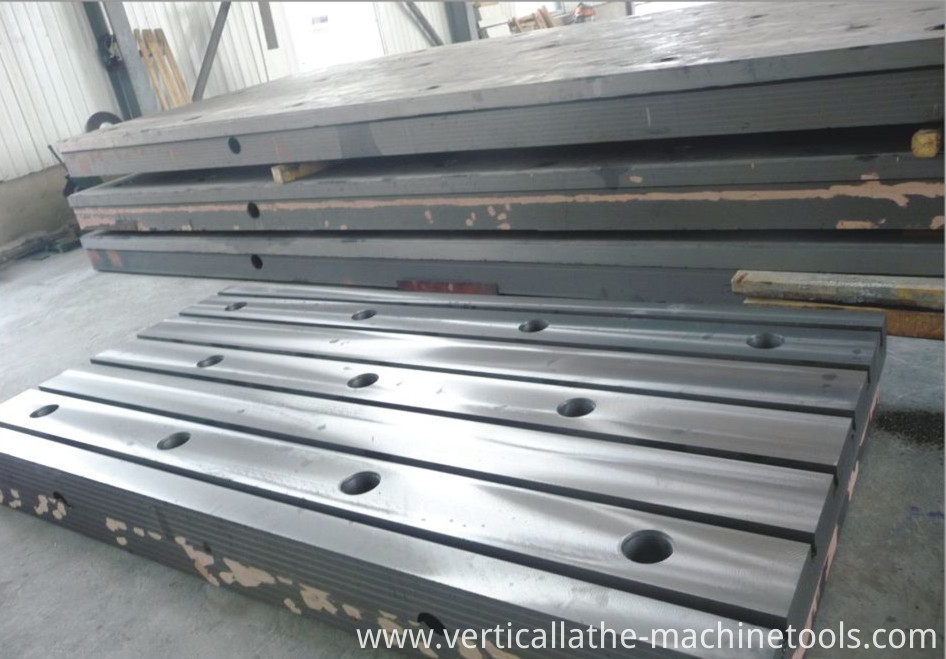 Iron surface plate