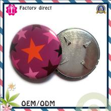 Factory Direct Sale Cheap Price Round Badge Tinplate Iron Badge