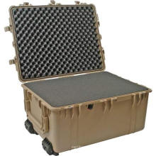 Wheeled Hard Plastic Case with foam for Electronics, Equipment, Cameras, plastic tool box Tools
