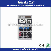 Правильный солнечный калькулятор для ноутбука с кожаной крышкой