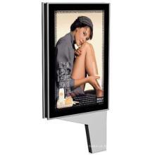 Rolagem e quadro de alumínio brilhante Publicidade caixa de luz Gd06