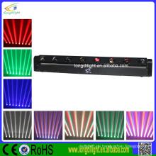 LED Moving ACL Effekt 8x10W Bewegen 4in1 / White DJ Sweeper Beam LED