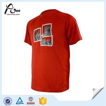 Screen Printed T-Shirts Großhandel Gym T-Shirts für Männer Sport