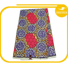 Wholesale African Printed Textile Super Dutch Hollandaise Wax Ladies Fashion Dress Design Fabric Made In China