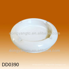 Wholesale custom design round ceramic cigar ashtray