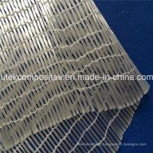 Tela unidirecional de alta resistência 160G / M2 unidirecional da fibra de vidro