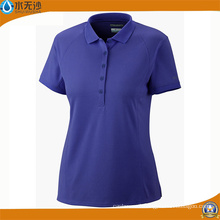 Custom Women Cotton T-Shirts Fashion Summer Polo T-Shirts