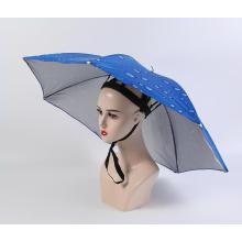 Fishing Hat Headwear Umbrella for Fishing Hiking Beach Camping Cap Head Hats Outdoor Sports Rain Gear Umbrellas