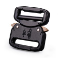 25mm Heavy Duty 300KG Steel Tactical Military Black Electrophoresis Cobra Belt Buckle