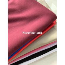Drap 100% microfibre de polyester solide et teint