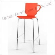 Хромированные ножки Пластиковые высокий стул адвокатского сословия табуретки адвокатского сословия (СП-UBC278)