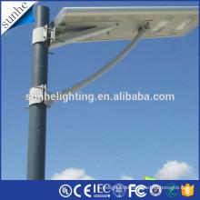 Heißer Verkauf Porzellan Hersteller alle in einem Solar führte Straßenlaterne mit CE & ROHS ISO IP65 wasserdichte Straßenlaternen