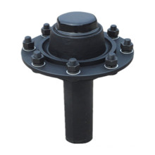 Stub Axle Without Brake Round Beam Or Square Beam