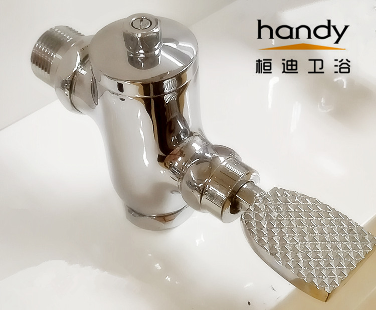 self closing flush valve for bathroom sanitary ware toilet