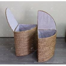 Panier de lessive Hyacinthe à l'eau - Lot de 2