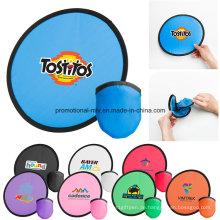 Bunte Stoff Polyester Flying Disc für Werbegeschenke