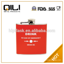 4oz cool gifts hip flask with logo