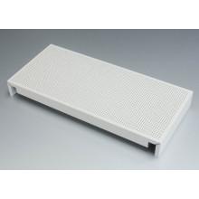 White Perforated Aluminum Ceiling Tiles