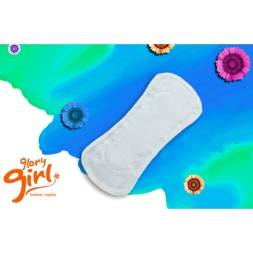 Pure cotton panty liners with scent
