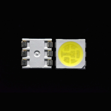 Blanco SMD LED 5050 3-chips 20LM