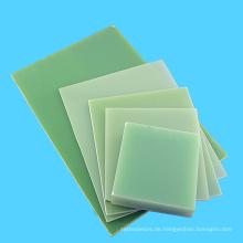 Grünes elektrisches Isolierungs-Epoxid-Plastik 3240 Blatt