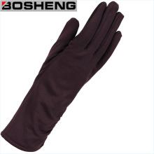 Fashion Women Opera Long Fabric Arm Gloves