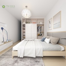 Grey Cushion Contemporary Furniture Melamine Bedroom