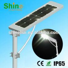 Luz de calle solar todo en una fábrica de 12w China mejor en shenzhen