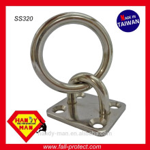 SS320 Marine Deck Hardware Stainless Steel 316 Tie Ring Plates