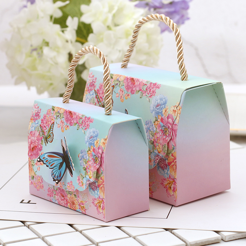 wedding candy box candy paper bag