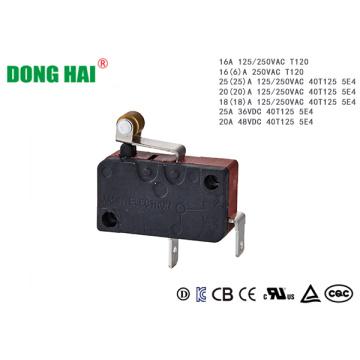 Short Hinge Roller  Micro Switch