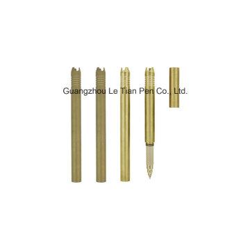 Luxus Gold Metall Gel Pen mit Kappe Lt-L456