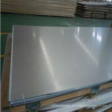 Folha de aço inoxidável laminada AISI 310 2B
