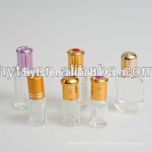 Rouleau de verre 6ml sur la bouteille