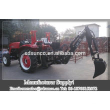 CE Certificate China Factory Rear 3-point hitched backhoe Digger