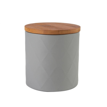 Holz Schwarzer Tee Kanister Set