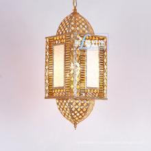 Éclairage pendentif de lanterne suspendue de style marocain antique