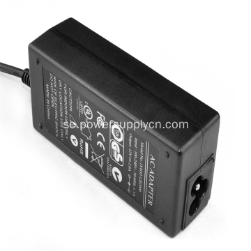Enkel utgång 24V2.71A Desktop Power Adapter