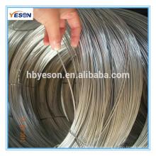 Alambre de hierro de costura electro galvanizado bajo precio