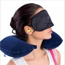 Almohada de viaje súper suave con soporte para el cuello