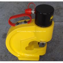 Hydraulic hole punch machine