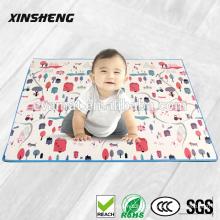 SGS EN71 certification, PU material kids play mats, baby crawling mats