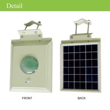 Eclairage public CE conduit réverbère solaire avec mouvement PIR Sensor, lampe led solaire extérieure