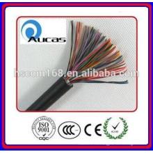 Cable de teléfono de 100 pares conductor de cobre desnudo de 0.40mm, embalaje del tambor